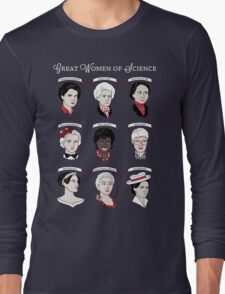 Great Women of Science {Set} Long Sleeve T-Shirt