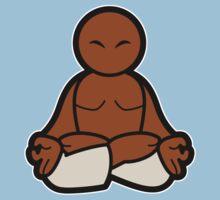 Padmasana (Lotus posture) by Joumana Medlej