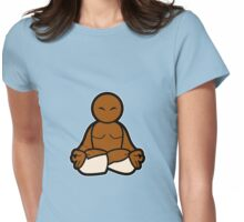 Padmasana (Lotus posture) Womens Fitted T-Shirt
