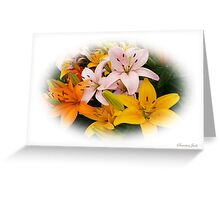 Spring Lilies ~ Ready for Planting Greeting Card