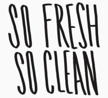 So Fresh So Clean One Piece - Short Sleeve