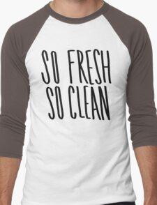 So Fresh So Clean Men's Baseball ¾ T-Shirt