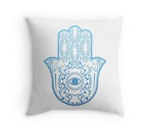 Hamsa. Hand of Fatima. Throw Pillow