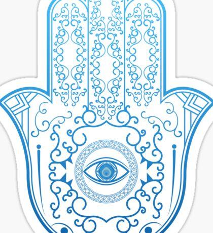 Hamsa. Hand of Fatima. Sticker