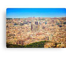 BARCELONA, La Sagrada Familia  Canvas Print