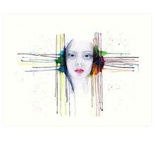 'Futility' Watercolour Portrait Illustration Art Print