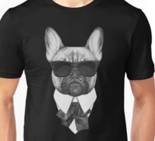 French Bulldog In Black Unisex T-Shirt
