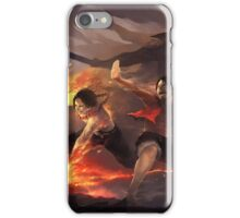 Luffy & Ace & Barbe Blanche & Akainu & Marco iPhone Case/Skin