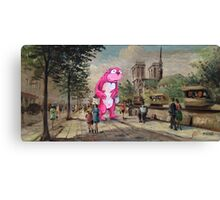 The Tourist Canvas Print
