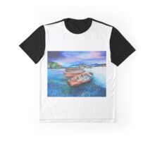 Boats of Colour Graphic T-Shirt