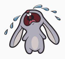 Bawling Bunny Kids Tee