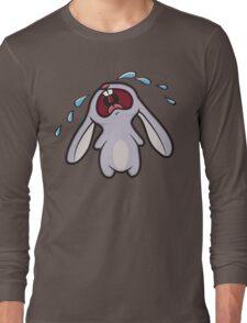 Sad Crying Bunny Rabbit Long Sleeve T-Shirt