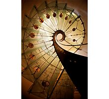 Spirals of steel and glass Photographic Print