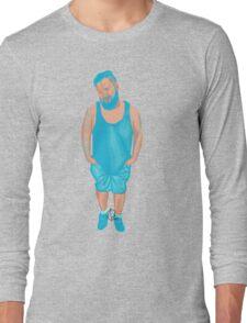 Cyan Long Sleeve T-Shirt