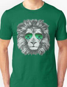 Lion with sunglasses Unisex T-Shirt