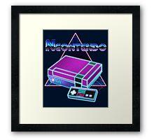 NEONTENDO Framed Print