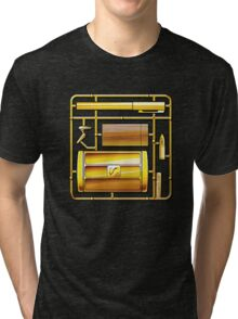 THE MAN WITH THE GOLDEN KIT Tri-blend T-Shirt