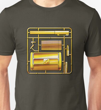 THE MAN WITH THE GOLDEN KIT Unisex T-Shirt