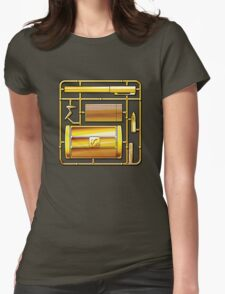 THE MAN WITH THE GOLDEN KIT Womens Fitted T-Shirt