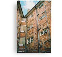 The brick. Canvas Print