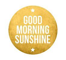 Good morning sunshine by beakraus
