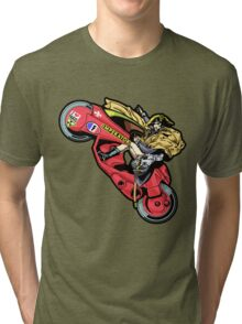 EMPEROR WHEELIE Tri-blend T-Shirt