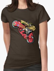 EMPEROR WHEELIE Womens Fitted T-Shirt