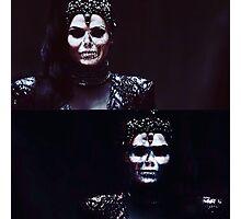 Skull Queen- Regina OUAT Photographic Print