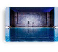 Luxury Pool and Spa at Hotel La Florida, Barcelona Canvas Print