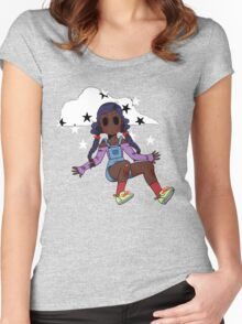 Chibi Fashion Girl #18 Women's Fitted Scoop T-Shirt