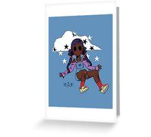 Chibi Fashion Girl #18 Greeting Card