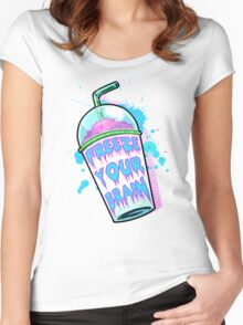 Freeze Your Brain Women's Fitted Scoop T-Shirt