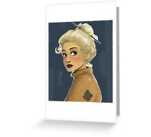 Luna Lovegood Greeting Card