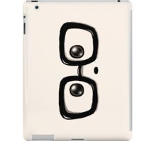 Geek Chic Panda Eyes iPad Case/Skin