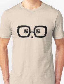 Geek Chic Panda Eyes Unisex T-Shirt