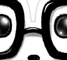 Geek Chic Panda Eyes Sticker