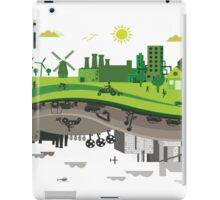 Eco vs Polluted iPad Case/Skin