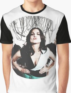 Lana Parrilla- angel icon  Graphic T-Shirt