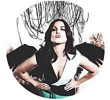 Lana Parrilla- angel icon  Photographic Print