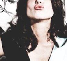 Lana Parrilla- angel icon  Sticker