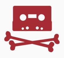 Pirates of the Cassette Player - RED by bluedog725