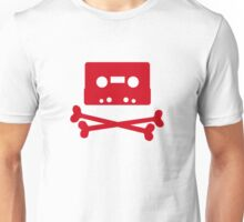 Pirates of the Cassette Player - RED Unisex T-Shirt