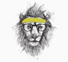 Hipster lion Kids Tee