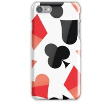 Poker sign iPhone Case/Skin