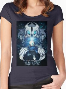 Sans - Do you wanna have a bad time? Women's Fitted Scoop T-Shirt