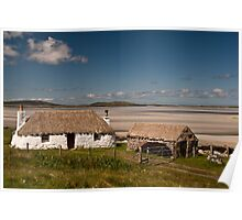 North Uist: Beach House Poster