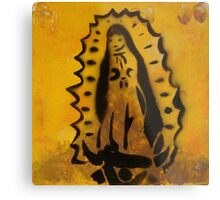 Our Lady of Guadalupe print  Metal Print