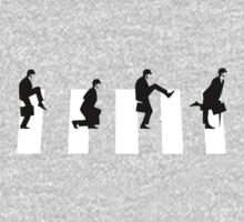 Ministry of silly walks/abbey road by ImADigby
