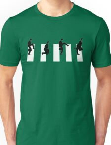Ministry of silly walks/abbey road Unisex T-Shirt