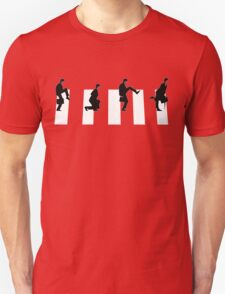 Ministry of silly walks/abbey road T-Shirt